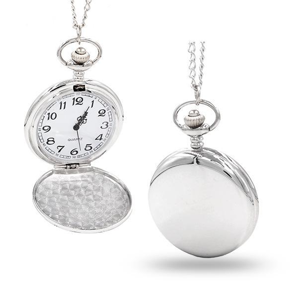 Kapesní hodinky Cibule retro stříbrné 6723ff96f8