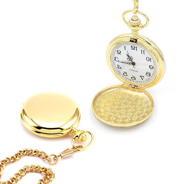 Kapesní hodinky Cibule retro zlaté bc7d5cb7d88