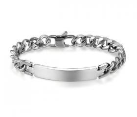 dárek s popisem  · Pánský náramek Classic z chirurgické oceli stříbrný ... f5e22687a16