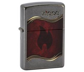 ZIPPO - Flame and Logo